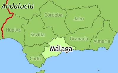Detailed Map Of Southern Spain.Map Of Andalucia Spain Andalucia Travel Guide