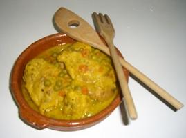 Chicken Fricassa