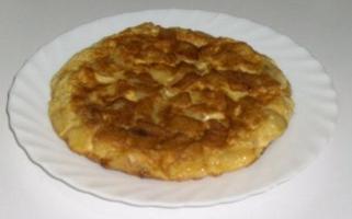 spanish recipes - spnish omelette